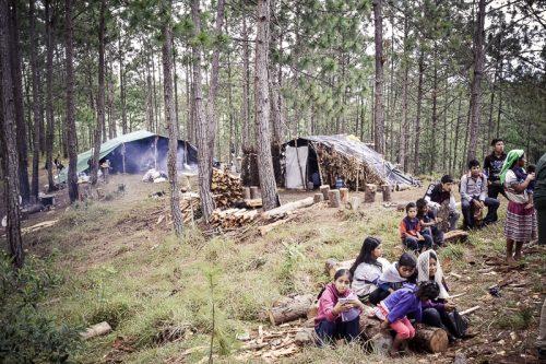 Desplazados Poblado Primero de Agosto