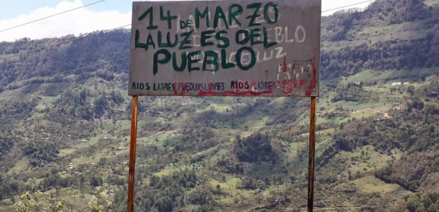 Rechazo total a los megaproyectos del mal gobierno Organización de la Sociedad Civil Las Abejas Tierra Sagrada de los Mártires de Acteal Acteal, Ch'enalvo', Chiapas,...