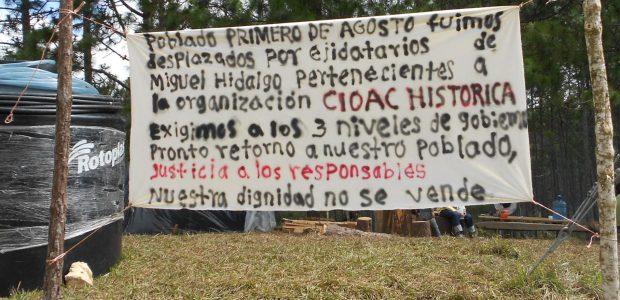 Aumentan agresiones, hostigamientos y amenazas en su campamento provisional, ante omisión de autoridades Boletín del Centro de Derechos Humanos Fray Bartolomé de Las Casas El...