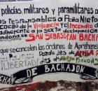 El pasado 21 de marzo, 600 elementos de la fuerza pública, incendiaron la sede regional de nuestros compañeros adherentes a la Sexta Declaración de la...