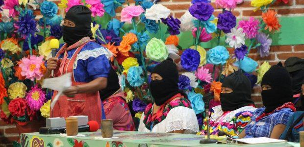 Por: Eugenia Gutiérrez. Colectivo Radio Zapatista. San Cristóbal de las Casas, Chiapas. 6 de mayo de 2015. Imaginemos la paleta del artista llena de pinturas,...