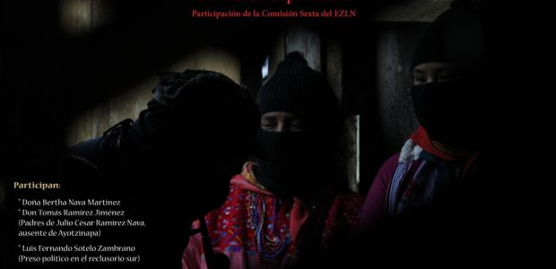 """La Comisión Sexta del EZLN e invitados especiales, presentarán el primer volumen de textos sobre el seminario semillero """"El Pensamiento Crítico Frente a la Hidra..."""