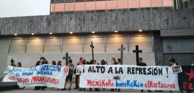 """""""Las comunidades zapatistas viven en una zona donde hay enormes riquezas naturales y el gobierno mexicano está llevando adelante una guerra para apropiarse del territorio...."""