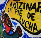 A los familiares de los 43 desaparecidos A la Escuela Normal Rural Isidro Burgos A la gente de abajo a la izquierda A las familias...