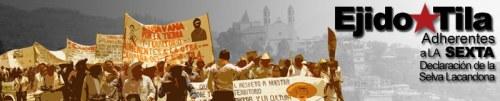 Ejido Tila Chiapas, A 7 de Julio del Año 2015. A Las Organizaciones No Gubernamentales de Derechos Humanos. A las y los compañeros del Congreso...