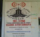 Transmitiendo en la 90.1FM desde la Normal Rural Raúl Isidro Burgos en Ayotzinapa, Tixtla, Guerrero. Por internet en http://espora.org:8000/vocesnuestras.ogg