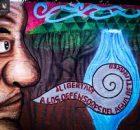 Palabra del Movimiento por laLibertad Defensores del Aguay la Vida de San Pedro Tlanixco, en el marco de la visita de familiares y compañeros de...