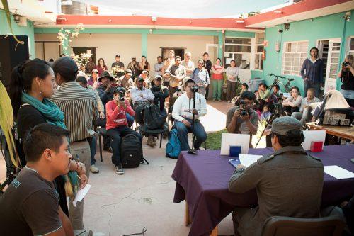 Conferencia Prensa retorno Banavil