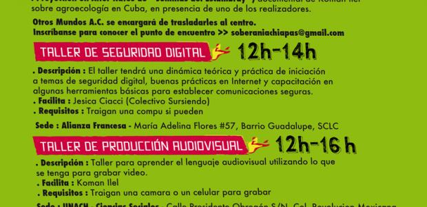 Esta es la lista de actividades para el segundo día de la Semana por la Autonomía Audiovisual Chiapas 2015. Puedes consultar la programación completa dando...