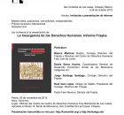 Publicado por Frayba La defensa y promoción de los derechos humanos en México es cada vez más compleja y necesaria. El contexto nacional nos obliga...