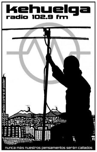 kehuelga medios libres, radio, represión, df,
