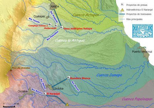 Cuencas y proyectos_Veracruz central_geocomunes