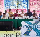 La delegación de Chiapas que participa en la doceava edición de MAPDER (Movimiento , se presentó públicamente la mañana del 11 de Noviembre frente...