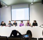 Publicado por Directa.cat Autora: Marta Molina En rueda de prensa desde el Colegio de Periodistas de Barcelona, cuatro periodistas catalanes, con el apoyo de varias...
