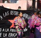 """San Cristóbal de las Casas, Chiapas. 3 de febrero. """"A travéz de grupos de choque de corte paramilitar"""", han desalojado a nueve familias de la..."""