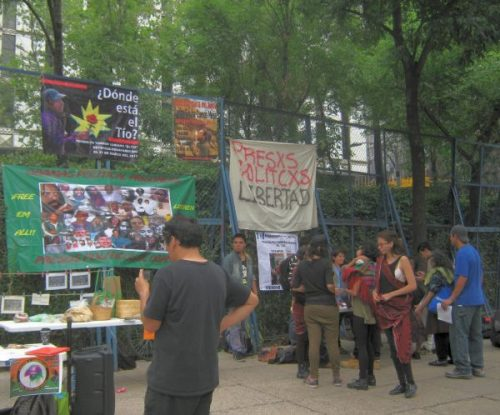Solidaridad Mumia-cumple 62-MExico