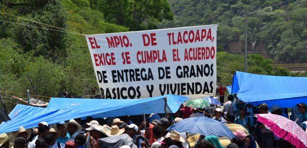 Tlapa de Comonfort, 31 de enero de 2016. El día de hoy el consejo de Comunidades Damnificadas de la Montaña de Guerrero inicio la Jornada...