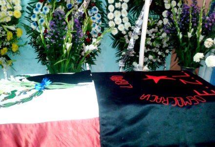 Por: Colectivo Pozol Chiapas México, 2 de junio. Integrantes del Consejo Autónomo Regional de la Zona Costa, informan del lamentable fallecimiento del profesor y luchador...
