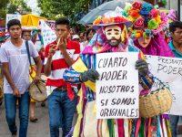 Tuxla Gutierrez, Chiapas; 17 de junio de 2016. Marcha el pueblo de Coita en apoyo al magisterio de la CNTE