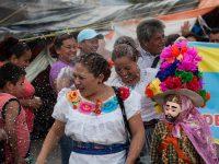 Tuxla Gutierrez, Chiapas; 17 de junio de 2016. Marcha el pueblo de Coita en apoyo al magisterio de la CNTE.