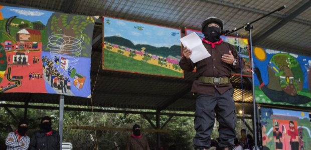 Por: Radio Zapatista PALABRAS DE LA COMANDANCIA GENERAL DEL EZLN, EN VOZ DEL SUBCOMANDANTE INSURGENTE MOISÉS, EN LA APERTURA DE LA PARTICIPACIÓN ZAPATISTA EN EL...