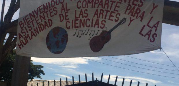 Las bases de apoyo del EZLN de los diferentes municipios autónomos de la zona compartieron a través de obras de teatro, poemas, canciones, bailables y...