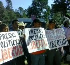 Como habían anunciado, el pueblo creyente de varias parroquias de Chiapas marcharon por la libertad de los presos injustos en el Pais. Varias personas se...