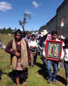 Los pasos del Pueblo Creyente, indígena y pobre, caminan una vez más por justicia  La mañana de este sábado 29 de octubre, en...