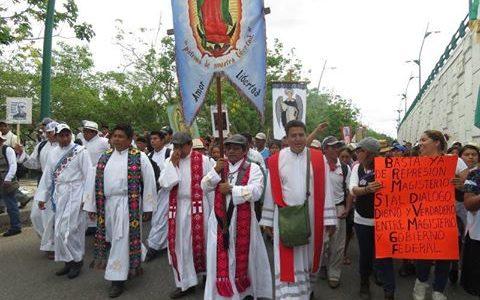 Pueblo Creyente de la parroquia San Antonio de Pádua, Simojovel, Diócesis de San Cristóbal de las Casas, Chiapas México; 04 de noviembre del 2016 A...