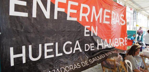 Por: CDMCH San Cristóbal de las Casas, Chiapas; a 06 de abril de 2017 Acción Urgente No. 001  Enfermeras en huelga de hambre en...