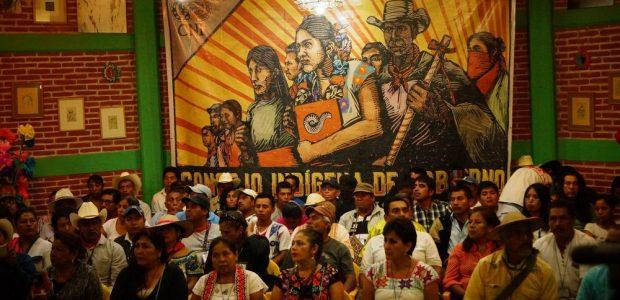 LLEGÓ LA HORA Escucha lectura de la declaratoria durante la Asamblea Constitutiva del Concejo Indígena de Gobierno, Cideci/Universidad de la Tierra Chiapas, 28 de mayo...