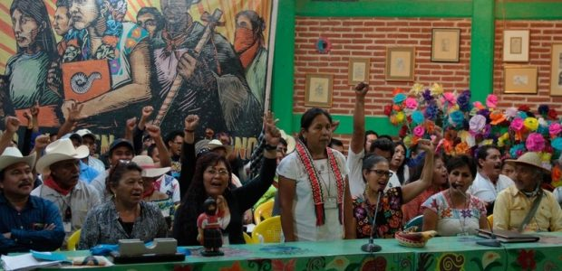 """Comunicado conjunto del Congreso Nacional Indígena y la Comisión Sexta del EZLN, en saludo a l@s primer@s integrantes de la asociación civil """"llegó la hora..."""