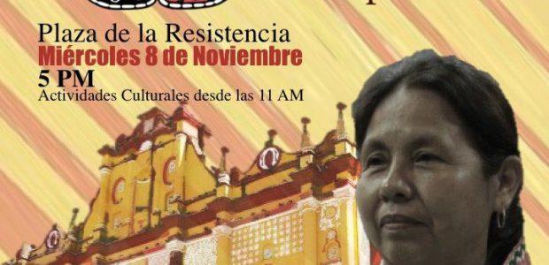 ¡Llegó el momento del florecimiento de los pueblos! Acompaña a celebrar el Encuentro del Concejo Indígena de Gobierno y su vocera Marichuy, con pueblos, barrios...