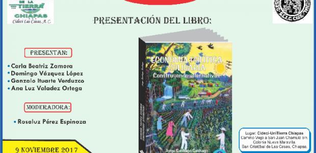 Este 9 de noviembre de 2017 a las 17:00hrs Sigue la transmisión en vivo por: https://www.youtube.com/user/transmisionescideci Información relacionada: Presentación del Libro «Autonomía y educación indígena....