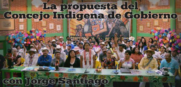 Grabación del conversatorio con Jorge Santiago sobre la propuesta del Concejo Indígena de Gobierno que caminan los pueblos del CNI. Realizado el 6 de enero...