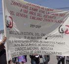 10 de abril de 2019, San Cristóbal de Las Casas. Congreso Nacional Indígena – Concejo Indígena de Gobierno, Chiapas se moviliza como parte de la...